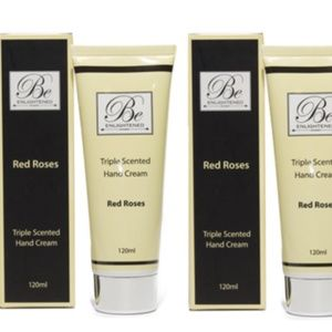 BE ENLIGHTENED RED ROSE TRIPLE SCENTED HAND CREAM